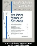 The Dance Theatre of Kurt Jooss Suzanne Walther
