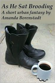 As He Sat Brooding  by  Amanda Borenstadt