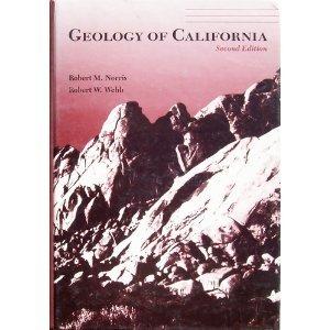 Geology of California/Book and Geologic Map of California Robert M. Norris