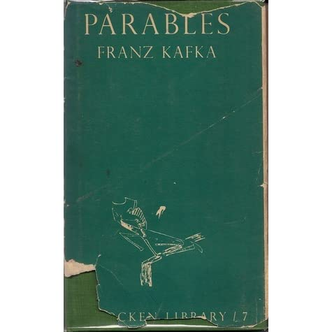 franz kafka petitions and parable essay The priest tells him the parable of the supreme body of the laws and the trial study guide contains a biography of franz kafka, literature essays, quiz.