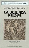 La scienza nuova  by  Giambattista Vico