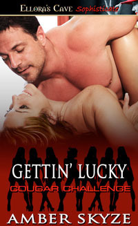 Gettin Lucky (Cougar Challenge, #16)  by  Amber Skyze