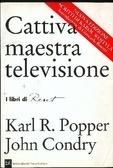 Cattiva maestra televisione  by  Karl Popper