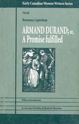 Armand Durand, Or, A Promise Fulfilled  by  Rosanna Eleanor Leprohon