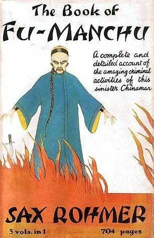 The Book of Fu-Manchu  by  Sax Rohmer