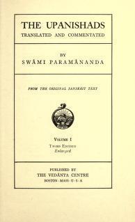 The Upanishads  by  Paramananda
