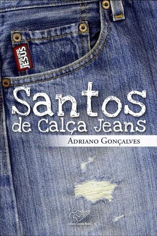 Santos de calça jeans  by  Adriano Gonçalves
