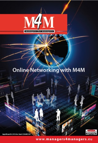 Online Networking with M4M  by  Geert Conard