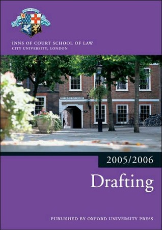 Drafting 2005/2006  by  Inns of Court School of Law