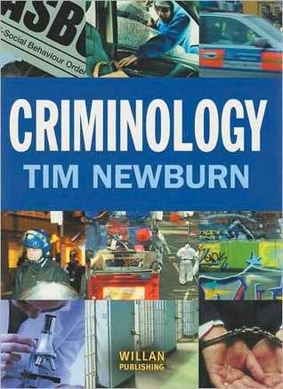 Criminology  by  Tim Newburn