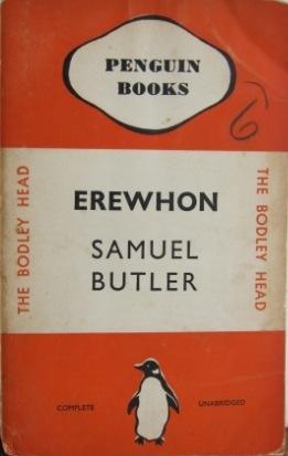 Erewhon (Penguin 20) Samuel Butler