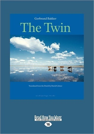 The Twin (Large Print 16pt)  by  Gerbrand Bakker
