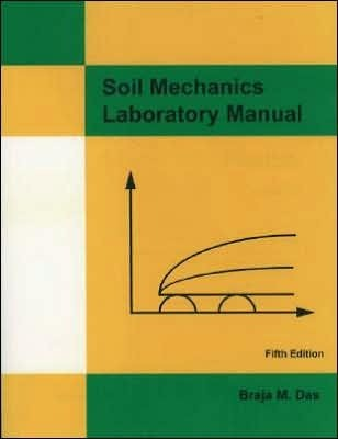Soil Mechanics Laboratory Manual Braja M. Das