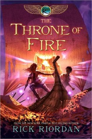 The Throne of Fire (Kane Chronicles, #2) Rick Riordan