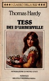 Tess dei DUrberville  by  Thomas Hardy