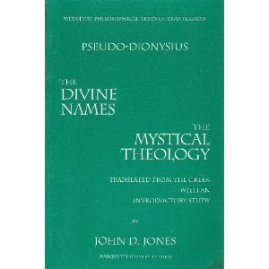 The Complete Works Pseudo-Dionysius the Areopagite