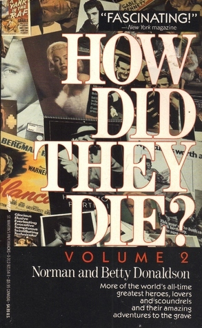 How Did They Die 2 Norman Donaldson