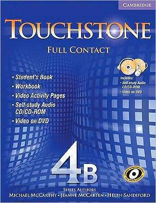Touchstone 4b Full Contact [With DVD]  by  Michael McCarthy