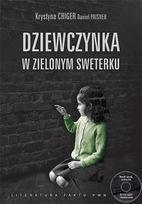 Dziewczynka w zielonym sweterku Krystyna Chiger