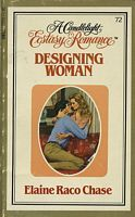 Designing Woman (Candlelight Ecstasy Romance, #72)  by  Elaine Raco Chase