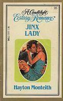 Jinx Lady (Candlelight Ecstasy, #95) Hayton Monteith