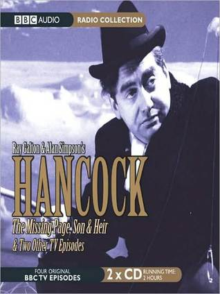 Hancock: The Missing Page, Son & Heir, & Two Other TV Episodes Ray Galton