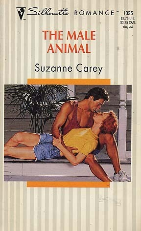 The Male Animal (Silhouette Romance, No 1025)  by  Suzanne Carey