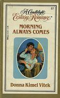 Morning Always Comes (Candlelight Ecstasy, #87)  by  Donna Kimel Vitek