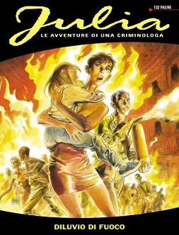 Julia n. 4: Diluvio di fuoco  by  Giancarlo Berardi