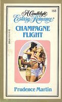 Champagne Flight (Candlelight Ecstasy Romance, #168)  by  Prudence Martin