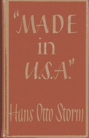 Made in U.S.A.  by  Hans Otto Storm