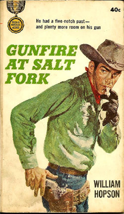 Gunfire at Salt Fork  by  William Hopson