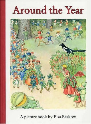 Around the Year: A Picture Book  by  Elsa Beskow