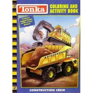 Tonka Truck Construction Crew Coloring Activity Book Unknown