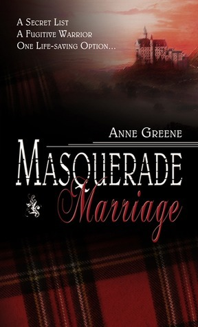 Masquerade Marriage Anne Greene