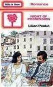 Night of Possession  by  Lilian Peake
