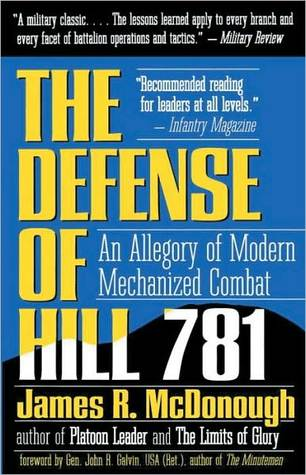 Defense of Hill 781: An Allegory of Modern Mechanized Combat  by  James R. McDonough