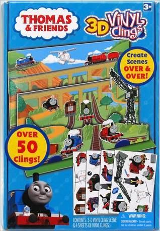 Thomas and Friends 3D Vinyl Clings Tara Toy