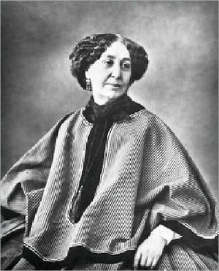 George Sand  by  Rene Coumic