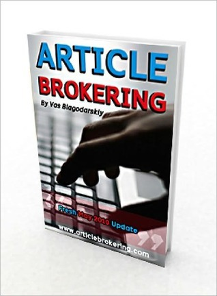 Article Brokering  by  Lou Diamond