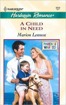 A Child in Need  by  Marion Lennox