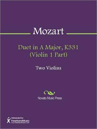 Duet in A Major, K331 (Violin 1 Part)  by  Wolfgang Amadeus Mozart