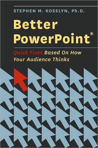 Better PowerPoint (R): Quick Fixes Based On How Your Audience Thinks Stephen M. Kosslyn