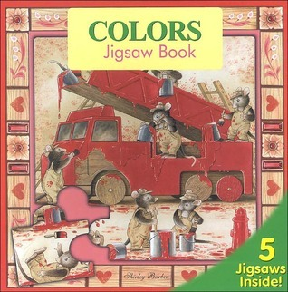 Colors: Jigsaw Book  by  Shirley Barber