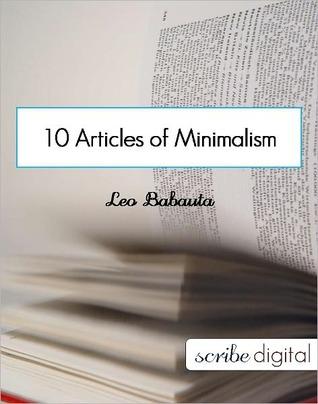 Zen Minimalism  by  Leo Babauta