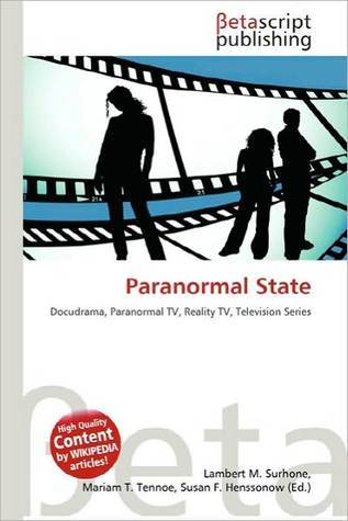 Paranormal State NOT A BOOK