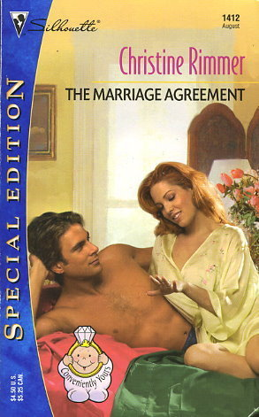 The Marriage Agreement (Bravo Family, #7) (Conveniently Yours, #7) Christine Rimmer