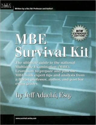 MBE Survival Kit  by  Jeff Adachi