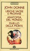 Liriche sacre e profane - Anatomia del mondo - Duello della morte John Donne