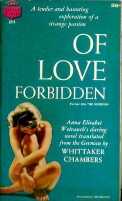 Of Love Forbidden Anna Elisabet Weirauch